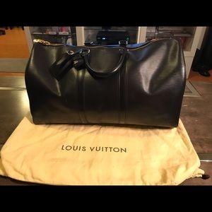 Louis Vuitton epi travel bag keepall 45